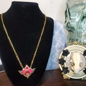 Sailor Moon Kawaii Transformation Locket Necklace